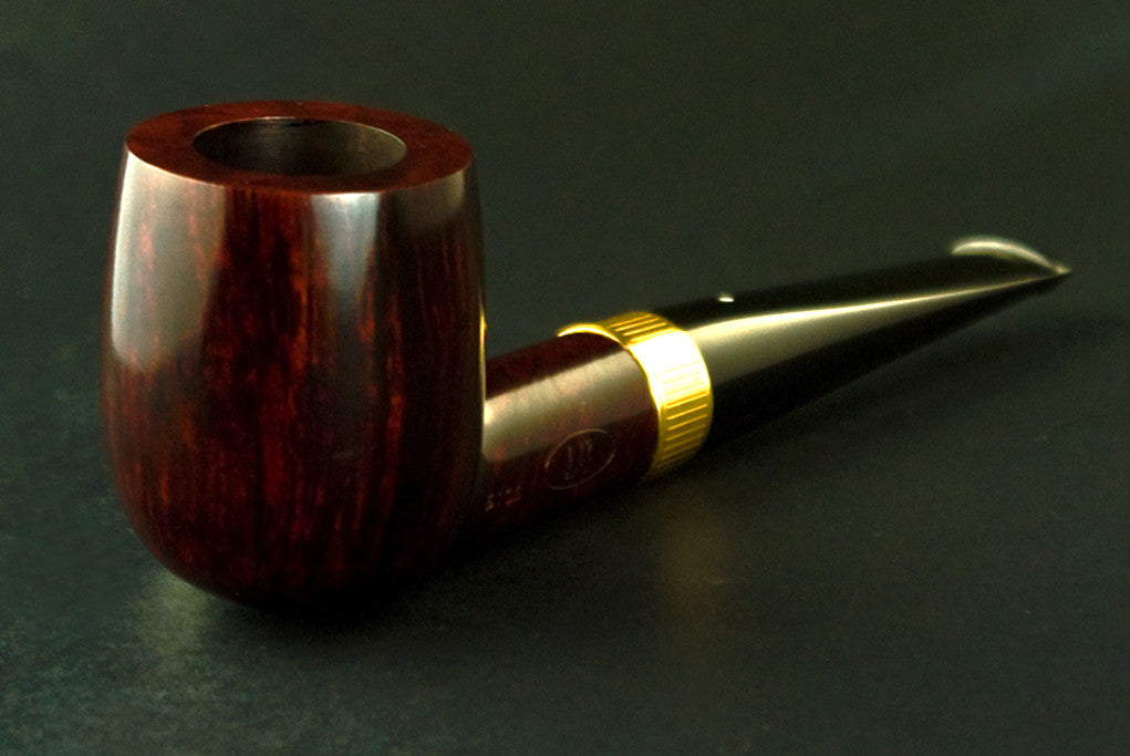 Dunhill Bruyere Billiard 5103 - Gold Band Decorated