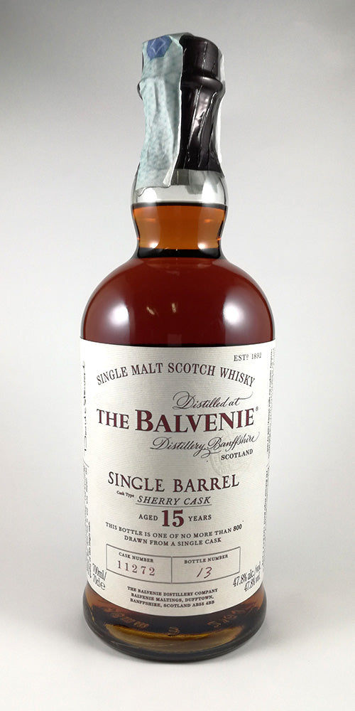 The Balvenie 15 y.o. Single Barrel Sherry Cask