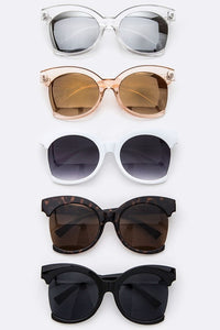Half Frame Iconic Sunglasses