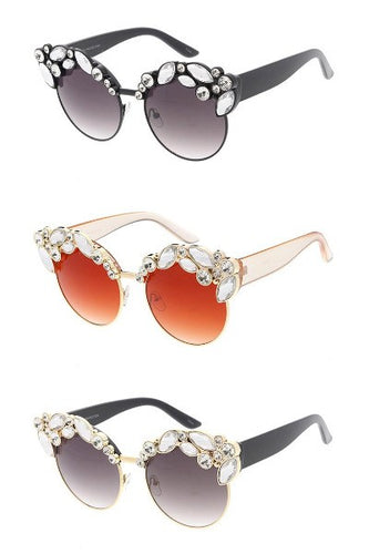 Gradient Gem Sunglasses