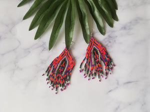 Colorful Chandelier Earrings