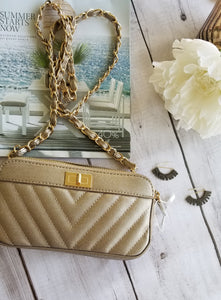Gold on Gold Handbag