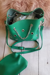 Chained Bucket Bag