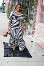 Load image into Gallery viewer, Long Striped Maxi Dress
