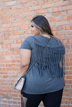 Load image into Gallery viewer, Fringe Back Tee
