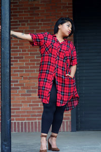 Checker Tunic