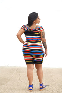 Bodycon Cross-Front Dress