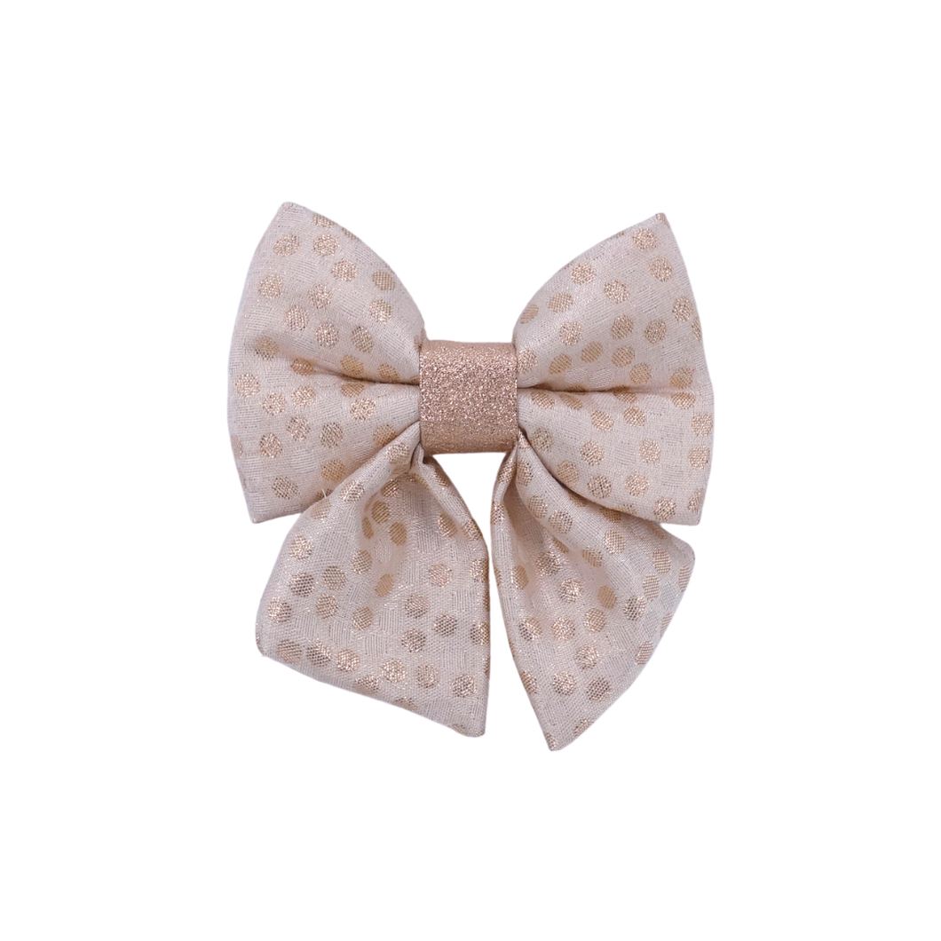 Bubbly Rose Gold - Sailor Bow