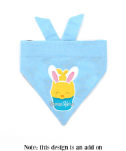 Load image into Gallery viewer, Choc Easter Bunny Bandana