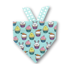 Load image into Gallery viewer, Easter Cupcake Bandana