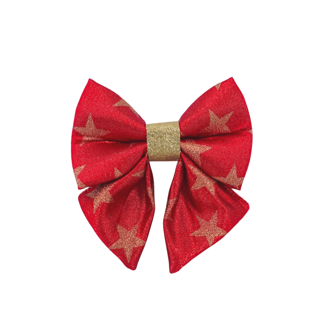 Season Greetings Red - Sailor Bow
