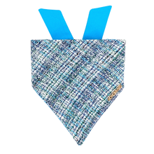 Load image into Gallery viewer, Bring It On Blue Tweed Bandana