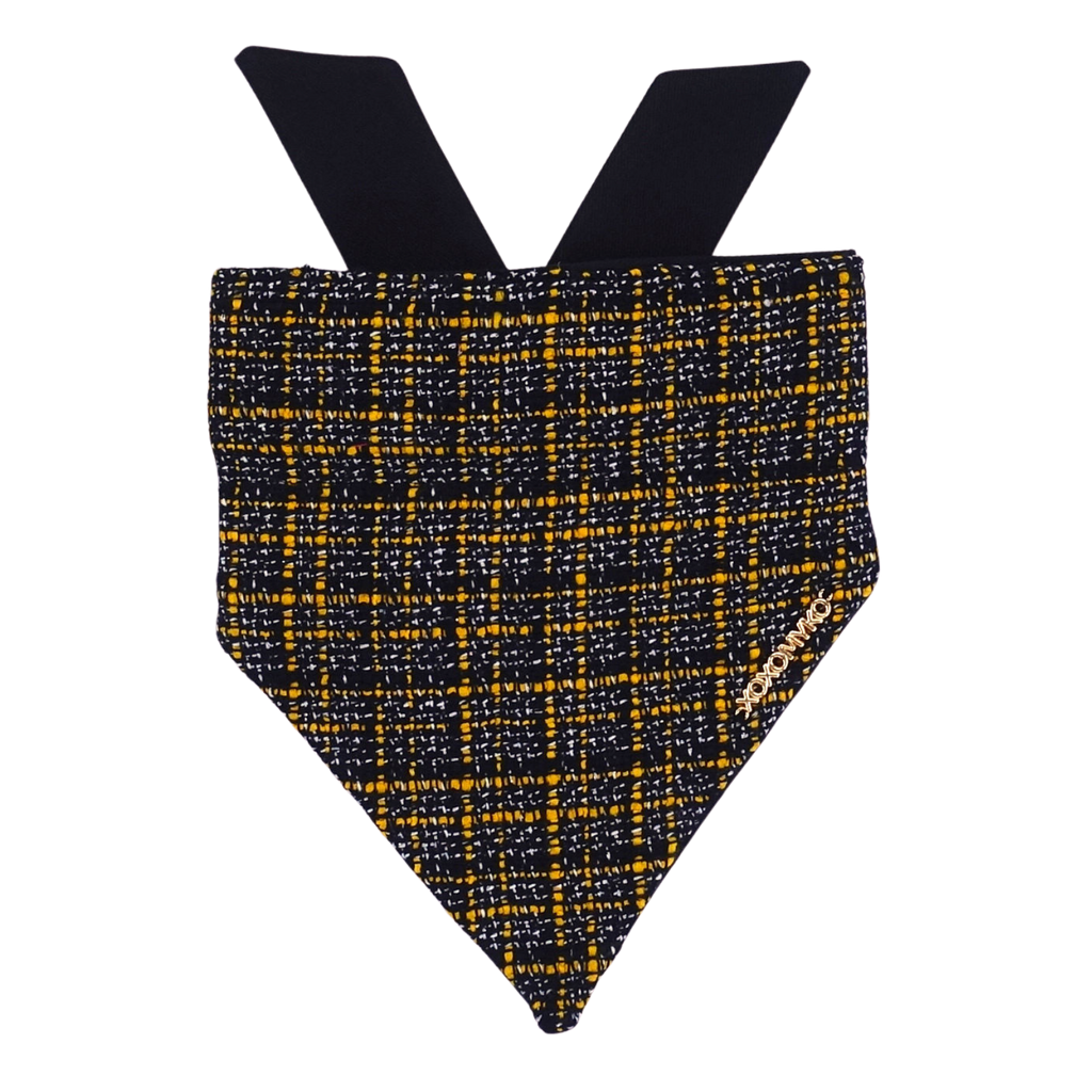 Clueless Navy Tweed Bandana