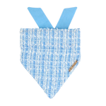 Ever After Blue Tweed Bandana
