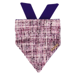 Hot Chick Purple Tweed Bandana
