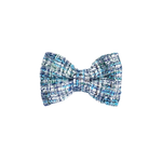 Bring It On Blue Tweed Bow Tie