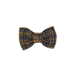 Clueless Navy Tweed Bow Tie