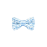Ever After Blue Tweed Bow Tie