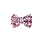 Hot Chick Purple Tweed Bow Tie