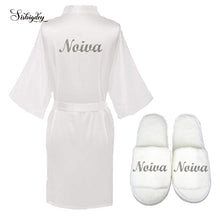 Load image into Gallery viewer, Novia Robe and Slippers