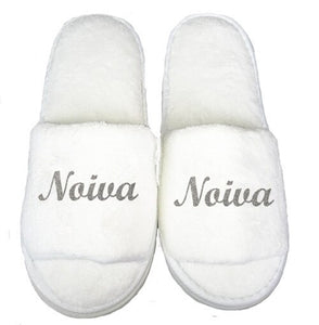 Novia Robe and Slippers