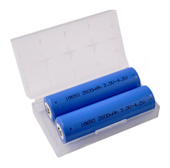 2 x 18650 Samsung Batteries
