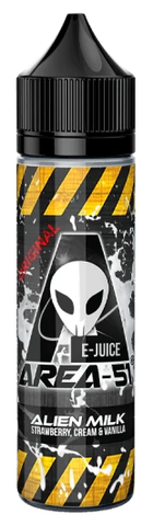 Alien Milk E Liquid by Area 51