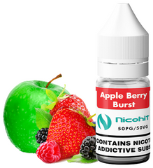 Apple Berry Burst E Liquid by Nicohit