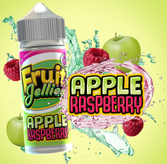 Apple Raspberry E Liquid by Fruit Jellies