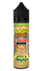 Apple & Cinnamon E Liquid by Pancake Factory