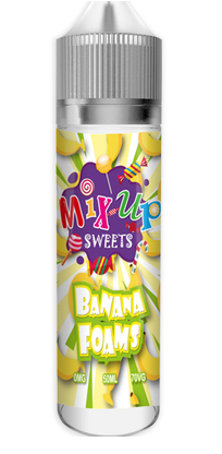 Banana Foams E Liquid By Mix Up Sweets