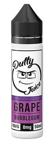 Grape bubblegum E Liquid by Dutty Juice