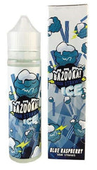 Blue Raspberry Ice Sour Straws by Bazooka