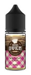 Birthday Cake E Liquid by Vapers Oven