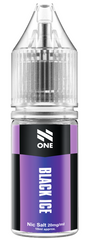 Black Ice Nic Salt E Liquid By N One