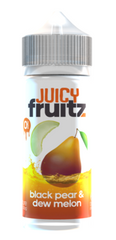 Black Pear & Dew Melon E Liquid by Juicy Fruitz