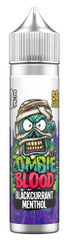 Blackcurrant Menthol E Liquid by Zombie Blood