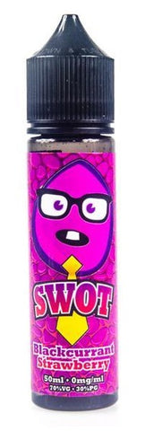 Blackcurrant Strawberry E Liquid by SWOT 50ml £5.99