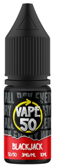 Blackjack E Liquid by Vape 50
