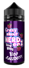 Bloo Razzberry E Liquid by Crazy about Nerdeez