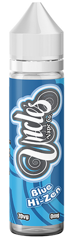 Blue Hi-Zen E Liquid by Uncles Vape Co
