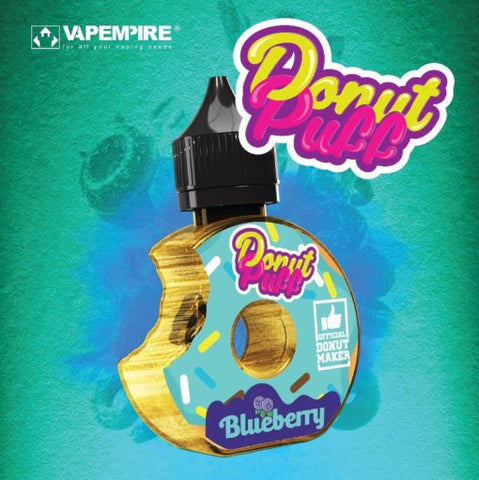 Blueberry E-Liquid by Donut Puff