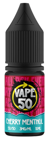 Cherry Menthol E Liquid by Vape 50