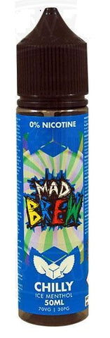 Chilly Ice Menthol E Liquid by Mad Brew