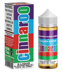 CinnaRoo E liquid by Cloud Thieves