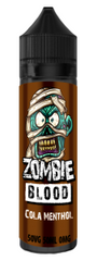 Cola Menthol E Liquid by Zombie Blood