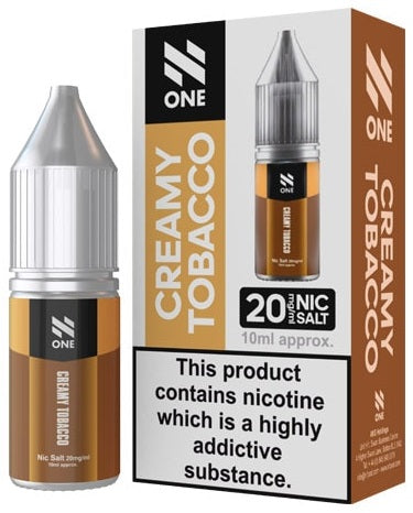 Creamy Tobacco Nic Salt E Liquid By N One
