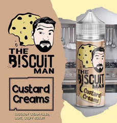 Custard Creams E Liquid by The Biscuit Man