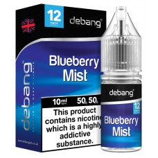De-Bang Blueberry Mist E-Liquid Flavour