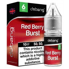 De-Bang Red Berry Burst E-Liquid Flavour